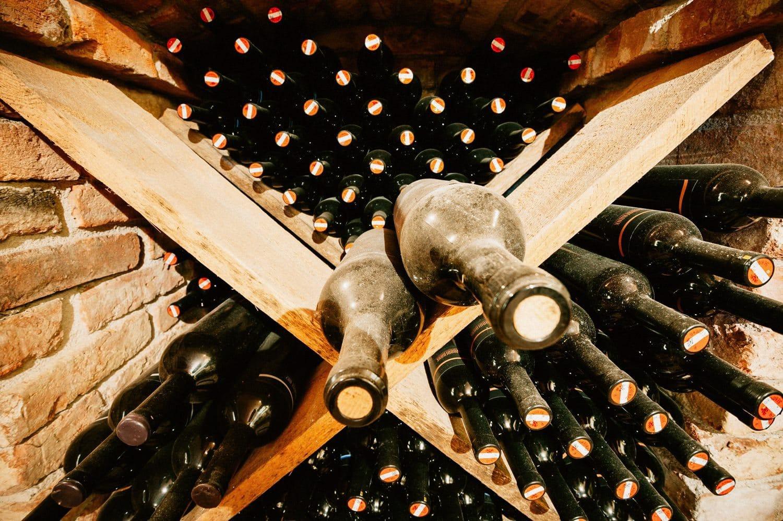 Bauer Wein Prosciutto Weinkeller