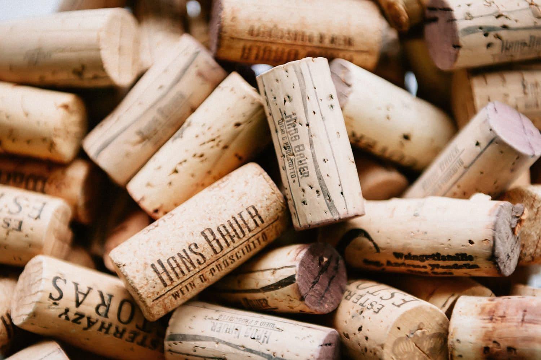 Bauer Wein Prosciutto Korken