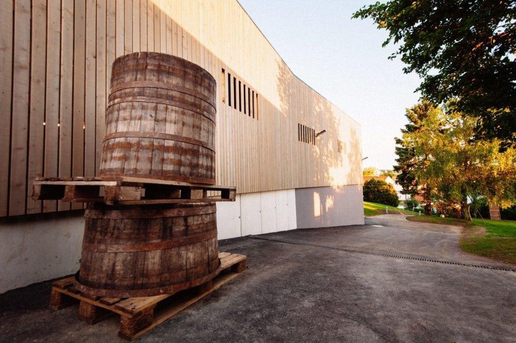 Bauer Wein Prosciutto Weinproduktion