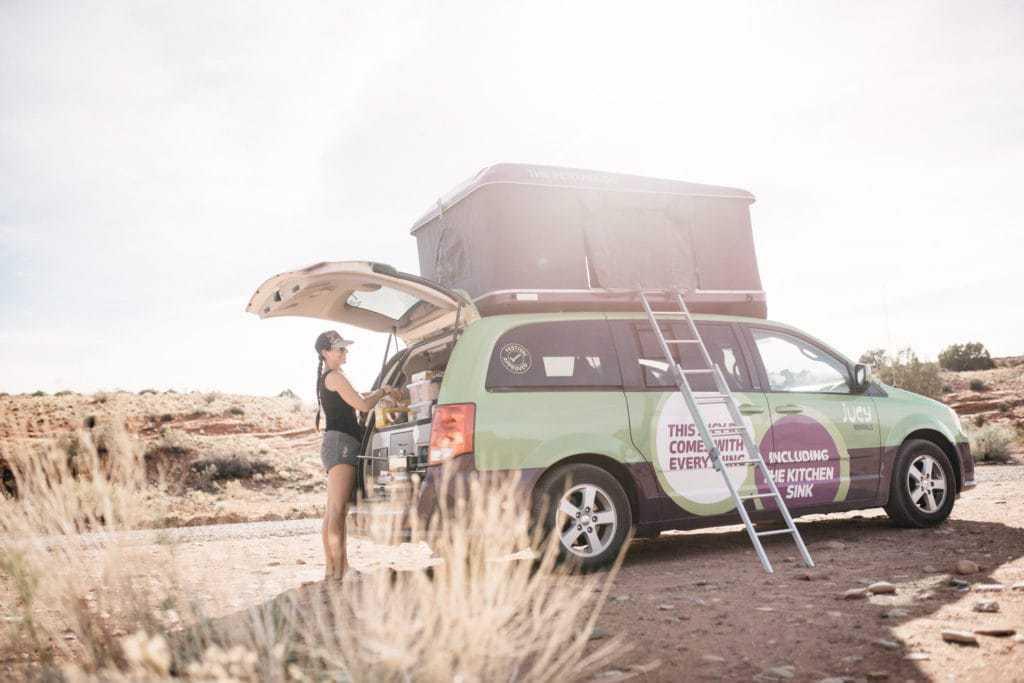 Jucy RV Rental North America - Kochen am Heck