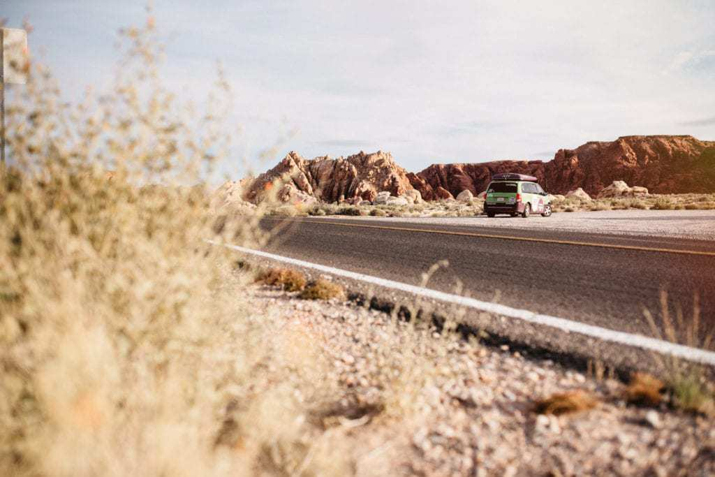 Jucy RV Rental North America - Valley of Fire