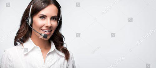 Stock Photo Call Center