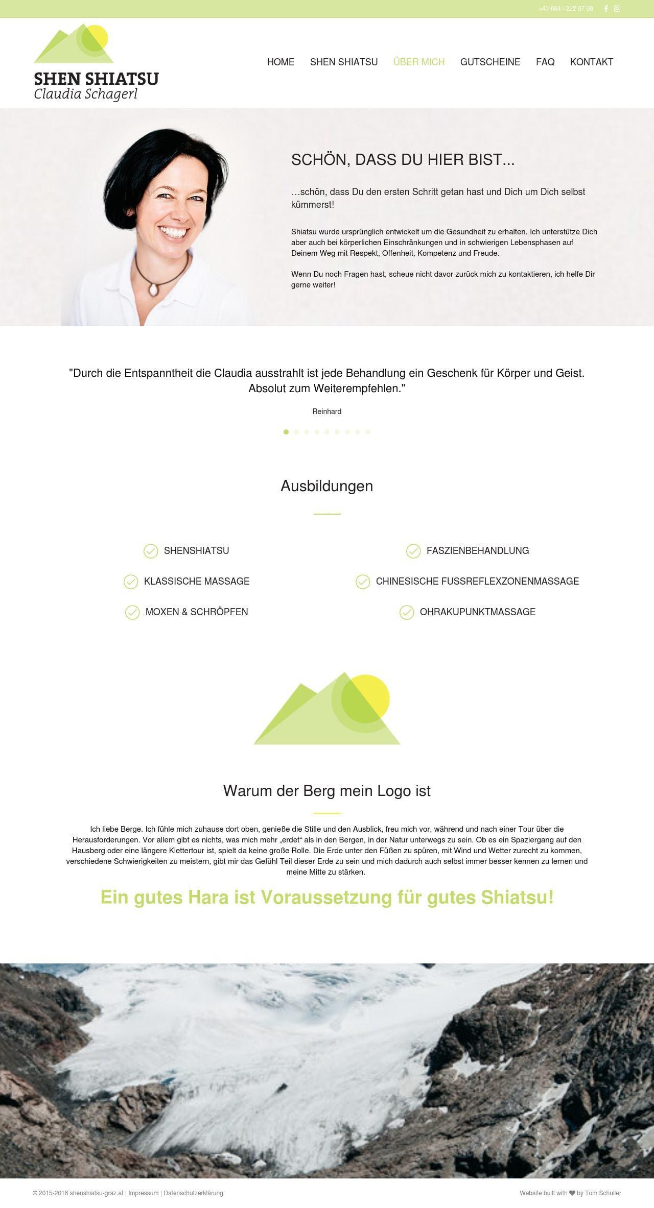 Shenshiatsu Graz Webdesign Ueber Mich