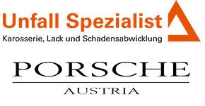 Unfall Spezialist Porsche Austria Logo